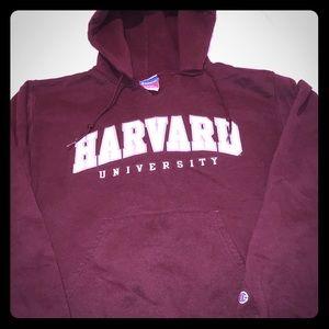 Women's S Harvard Champion Sweatshirt drawstring